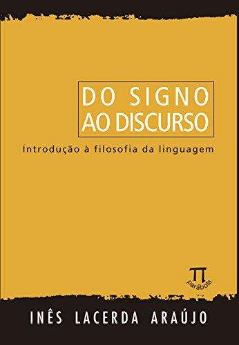 9788588456280: Do Signo ao Discurso. Introdução à Filosofia da Linguagem (Em Portuguese do Brasil)
