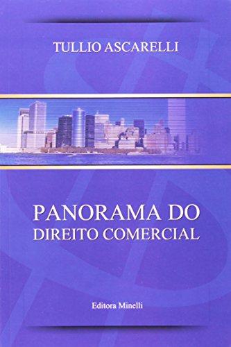 9788588884144: Panorama do Direito Comercial