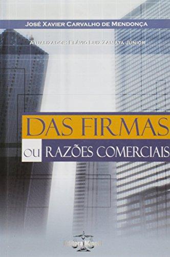 9788588884304: Das Firmas Ou Razoes Comerciais
