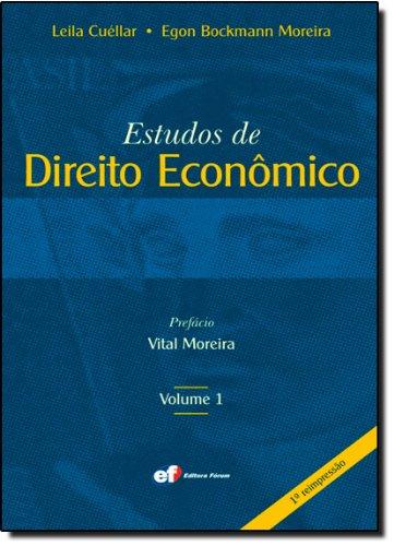 9788589148528: Estudos de Direito Econômico - Volume 1 (Em Portuguese do Brasil)
