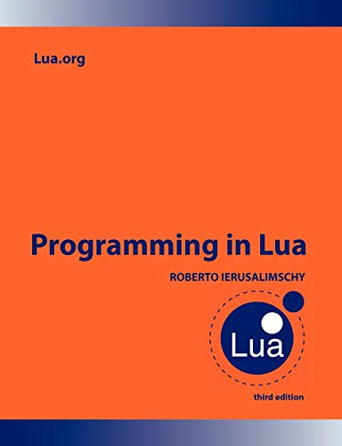 9788590379850: Programming in Lua