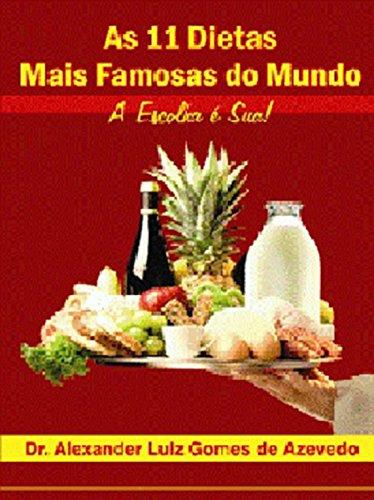 9788590635604: AS 11 DIETAS MAIS FAMOSAS DO MUNDO