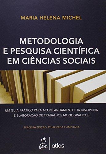 9788597001136: Metodologia e Pesquisa Cientifica em Ciencias Sociais