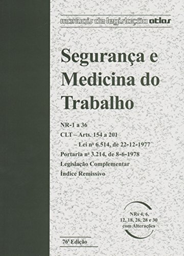 9788597001716: Segurança E Medicina Do Trabalho (Em Portuguese do Brasil)