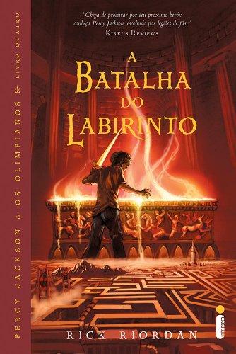 9788598078700: A Batalha Do Labirinto - Perci Jackson E Os Olimpianos - The Battle of the Labyrinth - (Book in Port