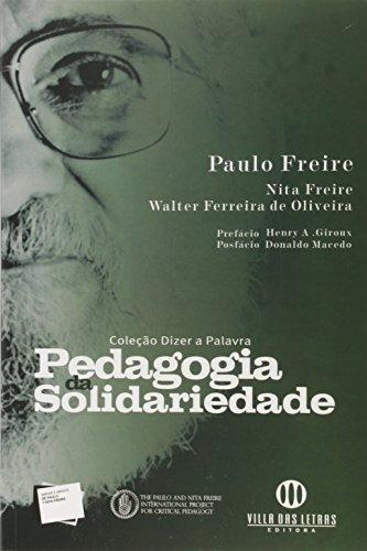 9788599911051: Pedagogia da Solidariedade - Volume 3 (Em Portuguese do Brasil)