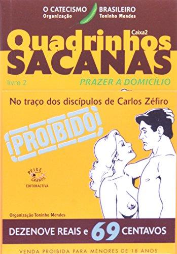 9788599996522: Quadrinhos Sacanas - Caixa 2. Laranja. Livro 2 (Em Portuguese do Brasil)
