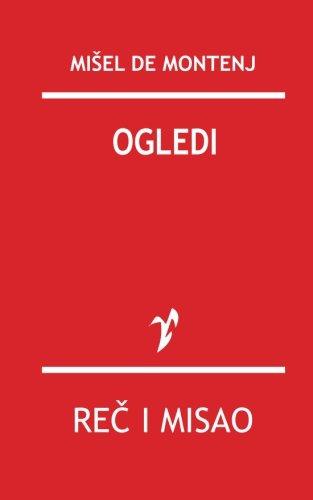 9788609006395: Ogledi (Serbian Edition)