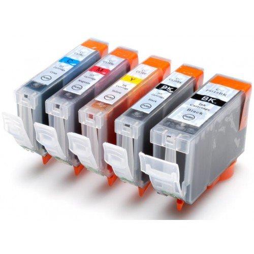9788625677913: 1lot de d'encre compatible PGI-5BK/CLI-8BK/C/M/CY/PC/PM pour Canon Pixma MP500/MP800///iP4200/iP5200/IP5200R/iP6600D MP950iP5100/MP830/MP530/iP3300/IP4300/IP5300/MP600/MP810/IP6700(puce) j432/J430/J6510/j435/J835/j280/J425DCP J525/j925/J725