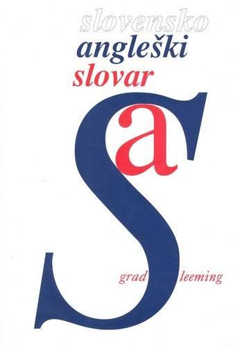 9788634109849: Slovene-English Dictionary/Slovensko-Angleski Slovar