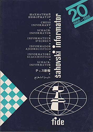 9788672970036: Chess Informant 40, VII - XII 1985