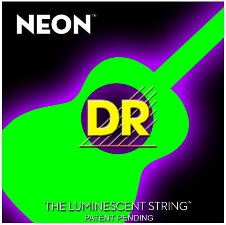 9788694129856: Neon Hi-Def Green Acoustic Guitar 011�-�050/Fluorescente Cuerdas (verde)