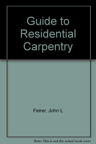 9788700238374: Guide to Residential Carpentry