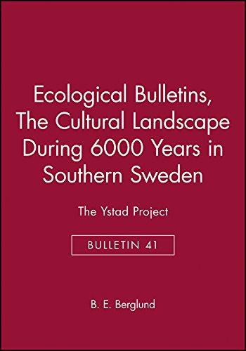 9788716110497: Ecological Bulletin: Cultural Lands No 41 (Ecological Bulletins)