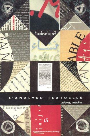 9788716131126: L'Analyse Textuelle: Methode, Exercises