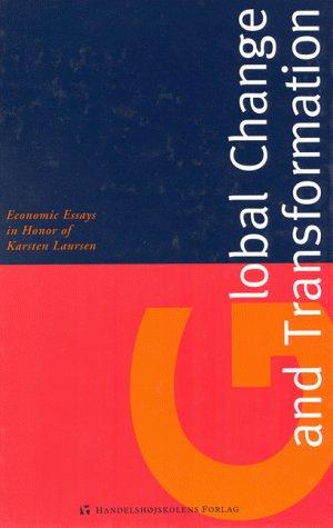 9788716132154: Global Change and Transformation (Copenhagen Studies in Economics and Management)
