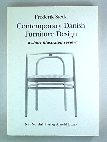 Contemporary Danish furniture design: A short illustrated review: Sieck, Frederik