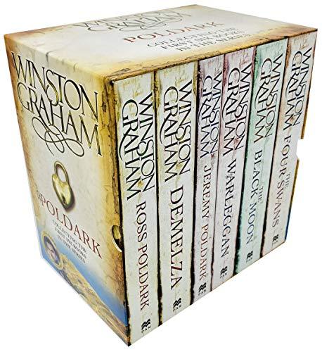 9788729105008: Winston Graham Poldark Series 6 Books Collection Set A Novel of Cornwall (Ross Poldark, Demelza, Jeremy Poldark, Warleggan, The Black Moon, The Four Swans)