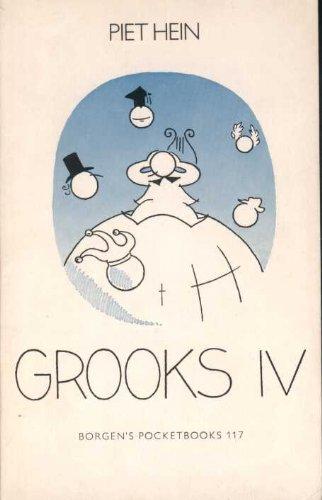 9788741812397: Grooks IV (Borgen's Pocketbooks 117)