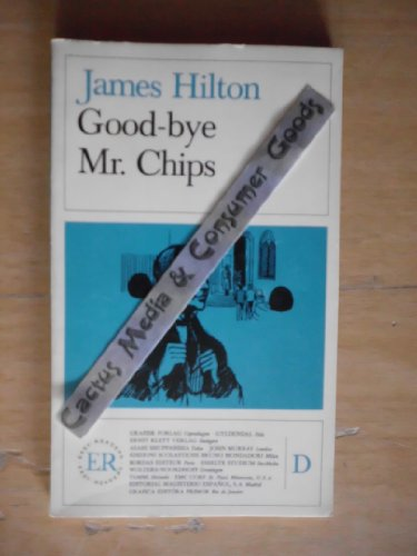 Easy Readers - English - Level 4: Goodbye, Mr Chips (German Edition) (8742973201) by HILTON