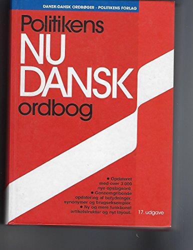 9788756760522: Politikens nudansk ordbog (Dansk-dansk ordbøger) (Danish Edition)