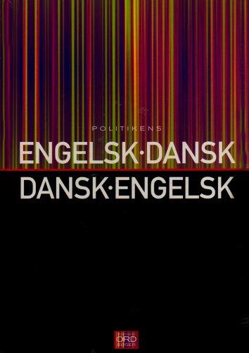 9788756765282: Politikens English-Danish and Danish-English Dictionary
