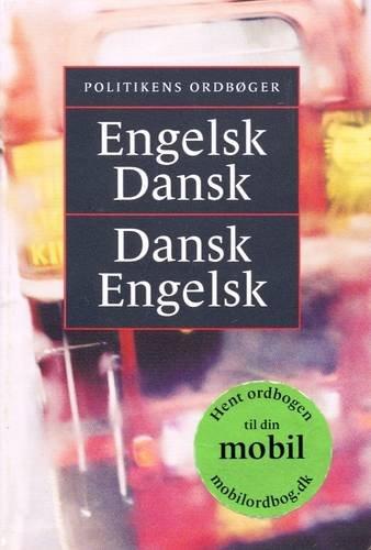 9788756779593: Politikens English-Danish and Danish-English Dictionary