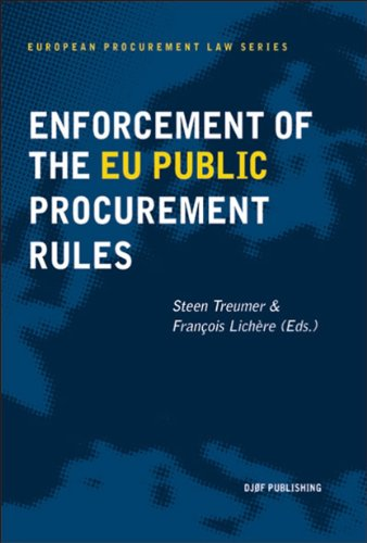 9788757423280: Enforcement of the EU Public Procurement Rules (European Procurement Law)