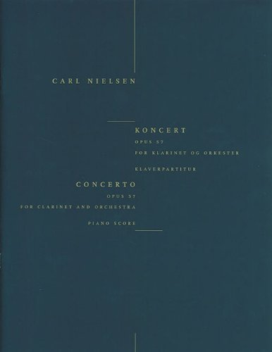 9788759811955: Clarinet Concerto Op. 57: Clarinet and Piano Reduction