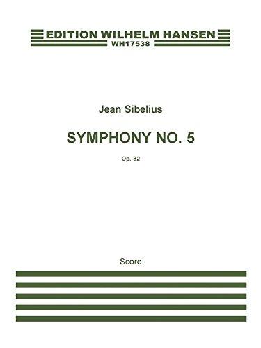 9788759854204: Jean Sibelius: Symphony No.5 Op.82 (Score)
