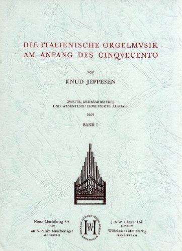 9788759854556: Die Italienische Orgelmusik am Anfang des Cinquecento: v. 1
