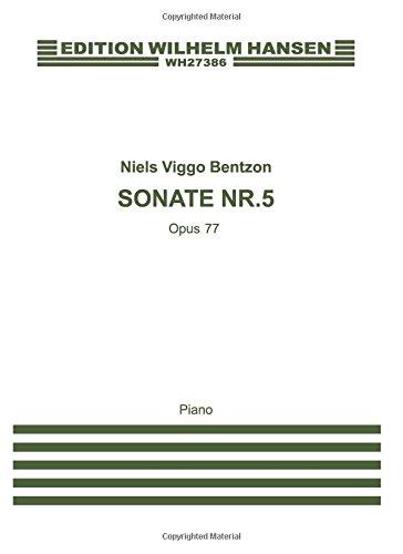9788759868881: BENTZON SONATE NR.5 OP.77