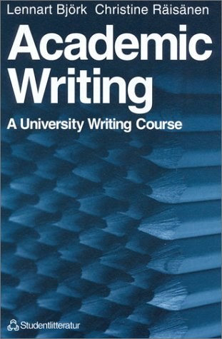 9788763000031: Academic Writing: A University Writing Course