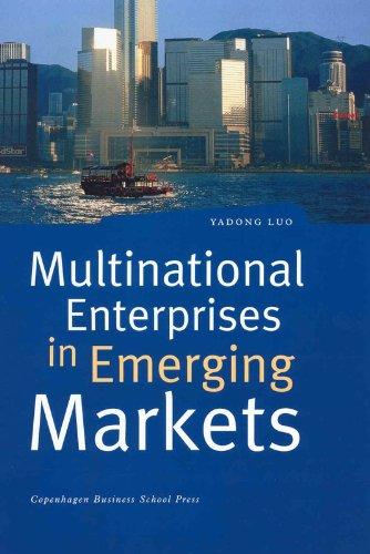 9788763000468: Multinational Enterprises in Emerging Markets