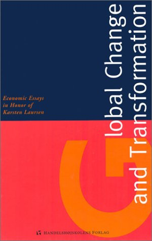 9788763000826: Global Change and Transformation