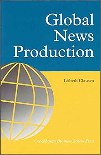 9788763001106: Global News Production