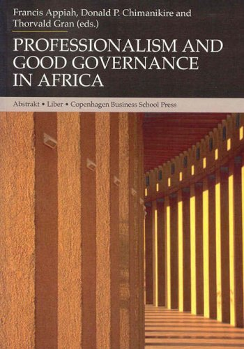 9788763001328: Professionalism and Good Governance in Africa