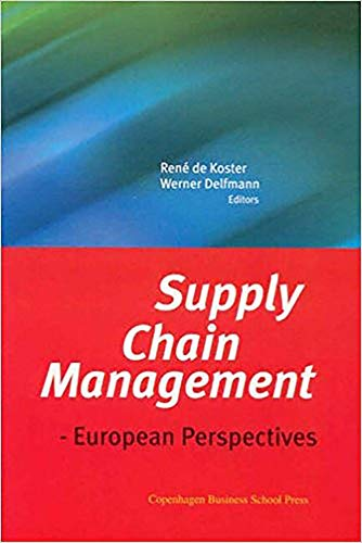 9788763001489: Supply Chain Management: European Perspectives