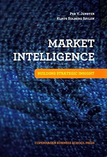 9788763002028: Market Intelligence: Building Strategic Insight