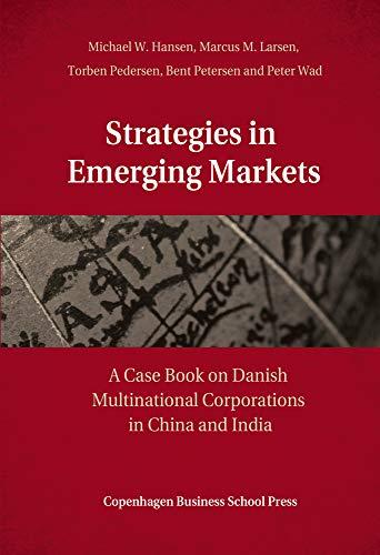 Strategies in Emerging Markets: Busquet, Josep