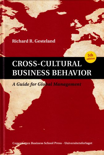 Cross Cultural Business Behavior