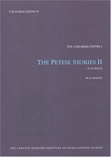 Petese Stories II: Ryholt, Kim