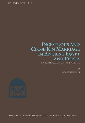 Incestuous and Close-Kin Marriage and An An Examination of the Evidence
