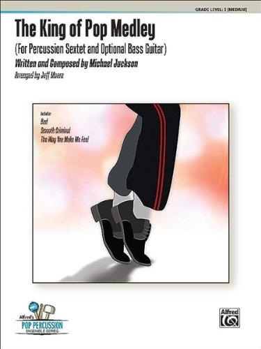 9788765113135: ALFRED PUBLISHING JACKSON MICHAEL - KING OF POP MEDLEY - PERCUSSION ENSEMBLE Sheet music pop, rock Drums