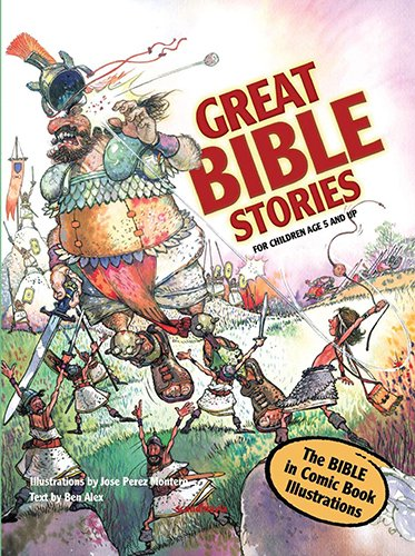Bible Stories - Comic Book Bible for Kids - Great Bible Stories - Bible Stories for Children ...