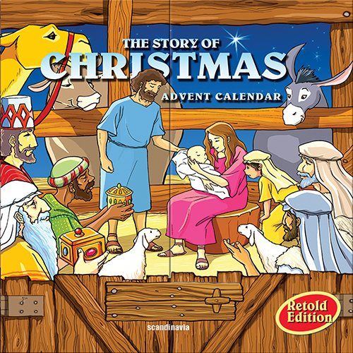 9788772475707: The Story of Christmas Advent Calendar: 25 Small Books Telling the Story of Christmas