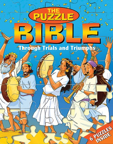 9788772475974: Through Trials and Triumphs Jigsaw Puzzle Bible-Children Games- Bible Puzzles- Nehemiah-Jerusalem-Queen Esther-Daniel- God's People- Fiery Furnace- ... Games for Children-Padded Hard Cover