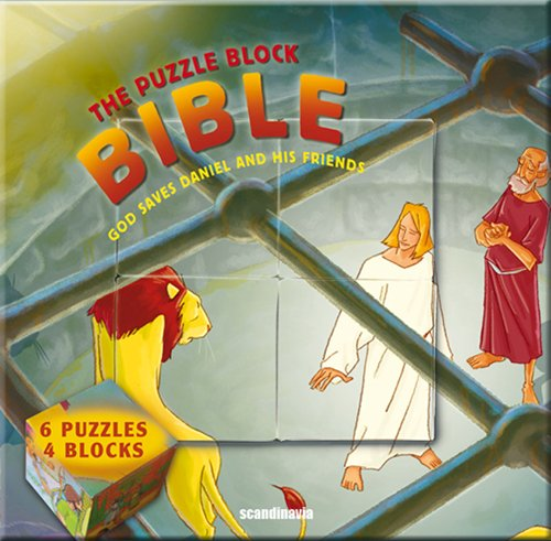9788772476186: Bible Games for Kids God Saves Daniel and His Friends (Puzzle Block Bible) Hardcover