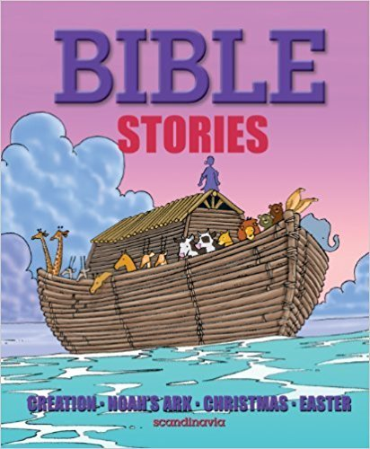 9788772477831: My First Bible - Bible Stories - Noah's Ark, Christmas and Easter, Bible Story Book for Children. Children Bible Stories - Hardcover: Full Color
