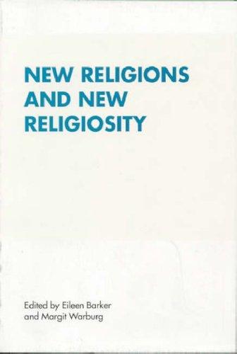 9788772885520: New Religions and New Religiosity (RENNER STUDIES ON NEW RELIGIONS)